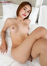 Bella is one pretty asian tgirl! She got a sexy body that you surely can't resist. Watch her show it off!